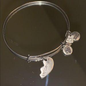 Pre-loved Alex and Ani Best Friends Charm Bracelet